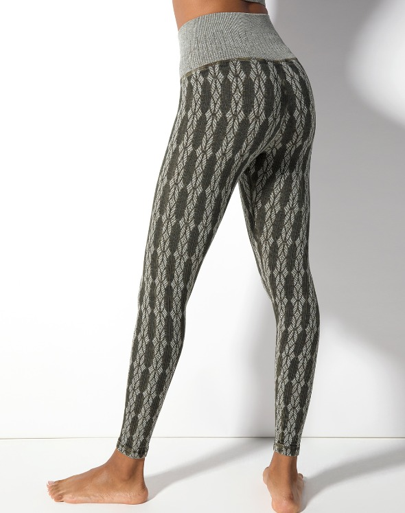 Fair Isle Leggings(VI4BO821)
